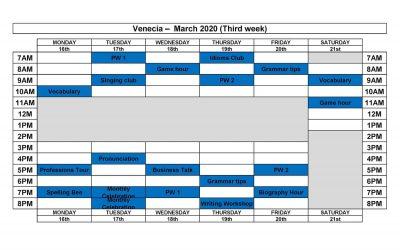 VENECIA MARCH 2020(2)