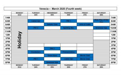 VENECIA MARCH 2020(3)