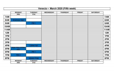 VENECIA MARCH 2020(4)